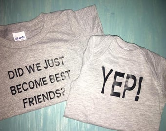 Best Friends Sibling Shirts