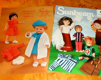 DOLLS CLOTHES PATTERNS.