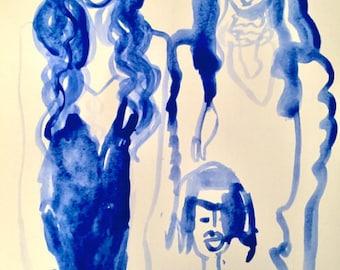 Blue Trio