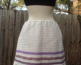 Crochet summer skirt M/L