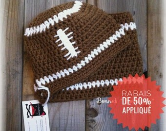 Hat and neck warmer 'Football'