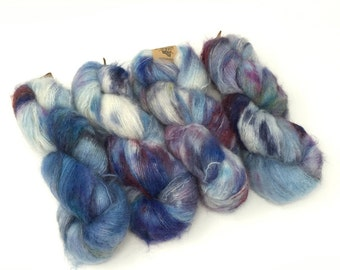 Frizzed (Mohair): Galaxy MISFIT Red Batch