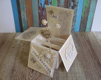 Wedding Card Congratulations Card Wedding Congratulations Card Box Card