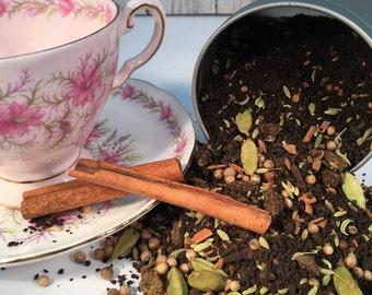 Chai Tea - Choice of Chocolate Vanilla or Regular - Indian Chai Tea - Dried Chai Tea Mix - Tea Lover Gift - Chai Latte -Boondock Enterprises