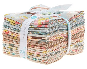 Riley Blake - Goldilocks by Jill Howarth Fat Quarter Bundle 18 count - Quilt, Quilting, Crafts