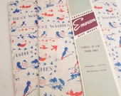 Vintage Gift Wrap - 1950's Wrapping Paper - New Old Stock - Best Wishes
