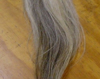 White/Black/Gray Horse Tail
