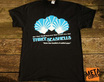 Demolition Man - Three Seashells Movie T-shirt