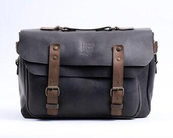 Laptop Messenger Bag (Chocolate)