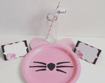 Kitty cat themed party