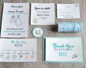 Customizing wedding set
