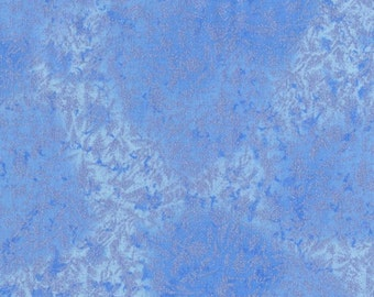 Reduced Sale  **Fairy Frost - Periwinkle - Michael Miller Quilting Fabric - *** ONE METRE ***