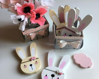 Boho Bunny decorations for children's bedrooms and nursery of the Birichi musii in PRONTO sale