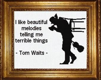Tom Waits Etsy