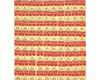 ANDY WARHOL - '100 cans' - rare original limited edition serigraph - c1991 (Gallery A.P. J. Graphic Station. Pop art)