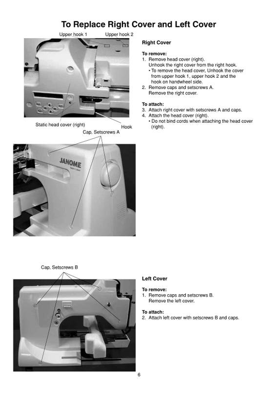 Janome Mb 4 manual
