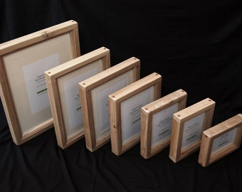 "20"" x 16"" Chunky Oak Picture Frame - Hand Crafted by 'Chunky Oak Design"