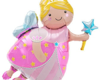 Fairy Princess Mylar Balloon | Petite Party Studio
