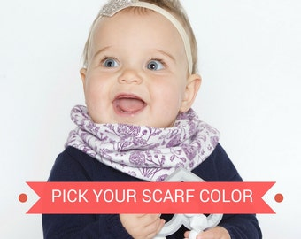 Baby Scarf Toddler Scarf Toddler Infinity Scarf Infant Scarf Infant Infinity Scarf Loop Scarf Fall Baby Scarf Spring Baby Scarf