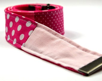 Jeansgürtl pink patchwork 2 belt