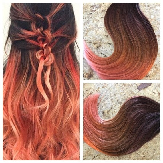Sale 5 star ombre balayage cuticle remy human hair sew in like this item pmusecretfo Choice Image