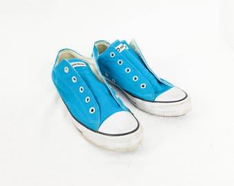 Turquoise AIRWALK Low Top Canvas Sneakers