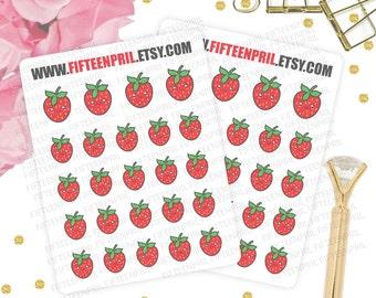 Strawberry Stickers -J331