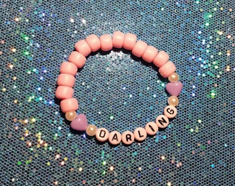 Pink Stretch Kandy Bracelet ~ Darling