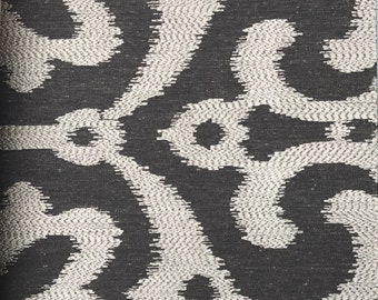 Ikat Linen Upholstery Collection -
