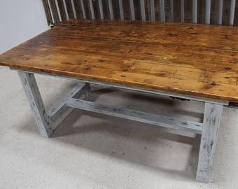 Reclaimed Barnwood Harvest Dining Table