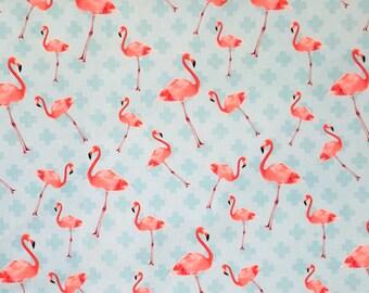 "Nooteboom decoration fabric ""Flamingo"""