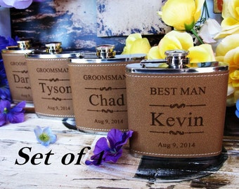 Father-of-the-groom gift - Customized Bride's gift to Father of the groom - gift for father in law - Set of 4 Best Bridesmaid Gift Ideas