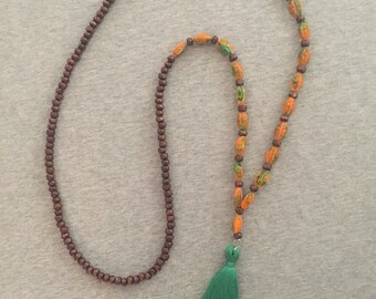 Tamara tassel necklace