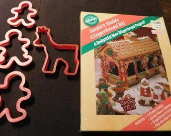 Wilton Santa's Stable Gingerbread Kit
