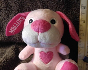 Personalized Valentine Puppy
