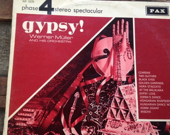 Werner Muller and his Orchestra - Gypsy - vinyl record