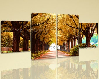 Tree Wall Decor Etsy - Wall decor canvas