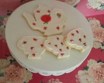Tea Party Cookies (One Dozen)