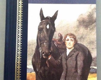 Black Beauty By Anna Sewell CHILDRENS CLASSICS - Illustrated By Lucy Kemp-Welch - Copyright 1986