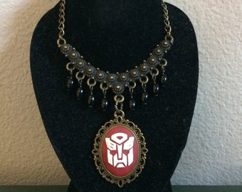 Transformers Autobot Cameo Pendant