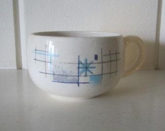 "Vintage FRANCISCAN ""OASIS"" Coffee Cup - Atomic Pattern"