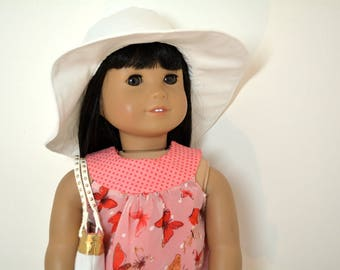 """18"""" Doll Clothing fits American Girl Doll - 6 piece outfit includes shoes"""