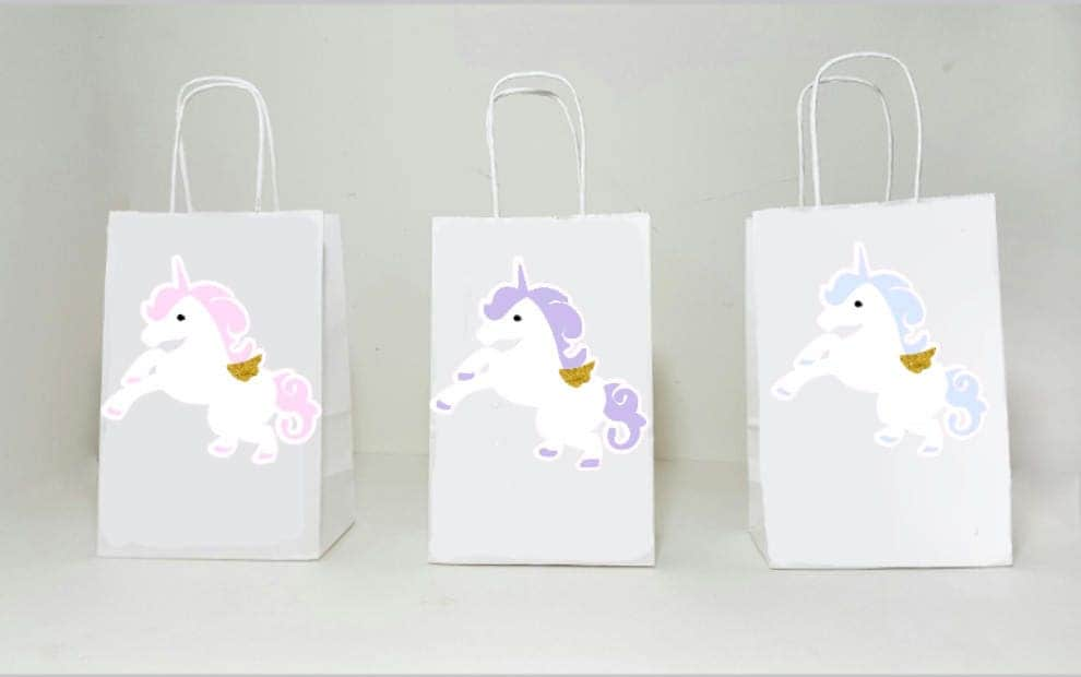 Unicorn Goody Bags Unicorn Party Bags Pastel Unicorn Favor