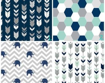 Boy Nursery Curtains Arrow Curtains Elephant Curtains Navy Blue Geometric  Curtain CUSTOM Spoonflower Curtain Panel Set Part 97
