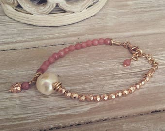 "Bracelet ""Pink"" Color Collection"
