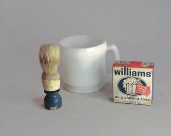 William's Shaving Mug Soap Vintage Grooming Soap