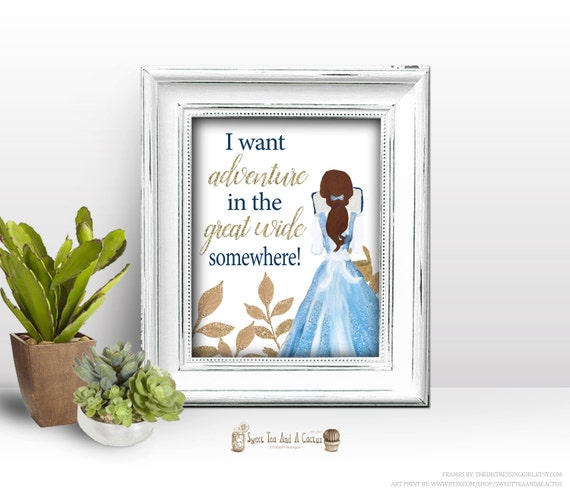 Beauty And The Beast Belle Adventure Quote Wall Art Printable