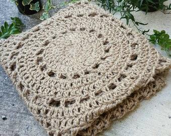Jute Crocheted Rug