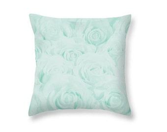 tiffany blue pillow etsy. Black Bedroom Furniture Sets. Home Design Ideas