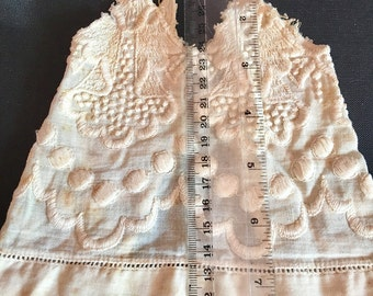 Antique Homemade Doll Clothes-- Three Items--China Doll Stash
